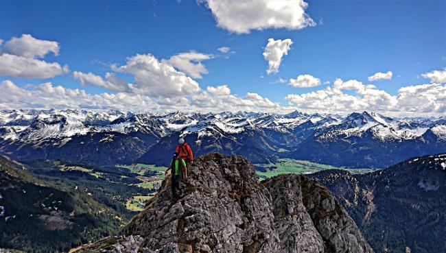 Jugendfahrt Mehrseillängen im Tannheimer Tal