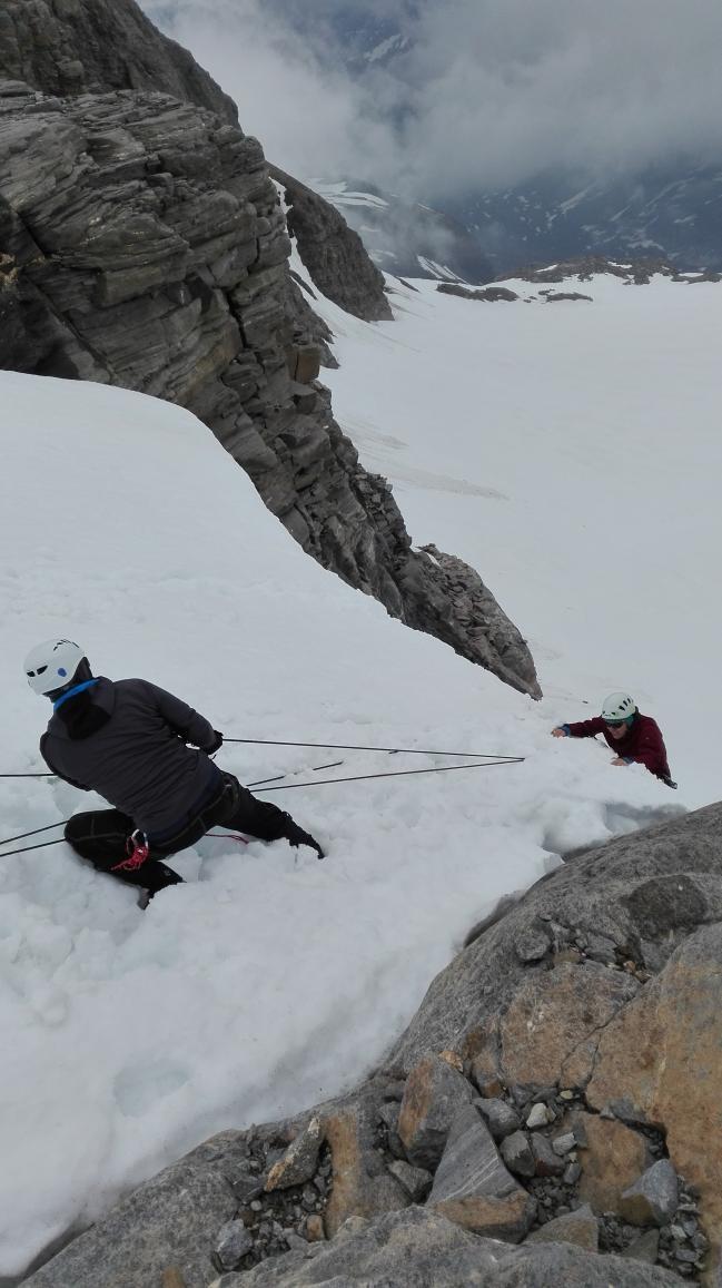 Gletscherkurs Oberwalder Hütte