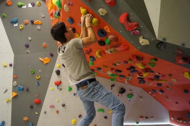 """Neue Boulderhalle in """"NoLimits"""""""