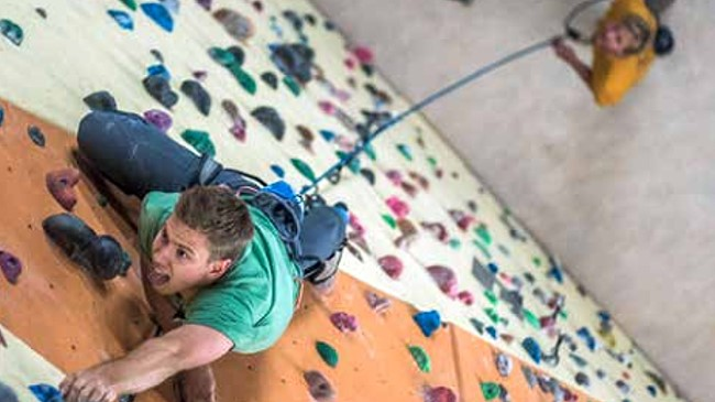 Kletterkurse in der Kletterhalle des DAV Sektion Bad Kissingen